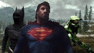 getlinkyoutube.com-Top 5 Superhero Mods In Skyrim