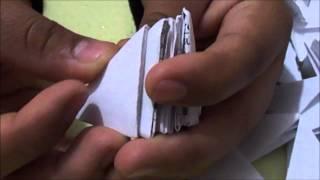 getlinkyoutube.com-cisne de papel