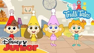 Trulli Tales | Meet Ring, Sun, Zip and Stella! | Disney Junior Arabia