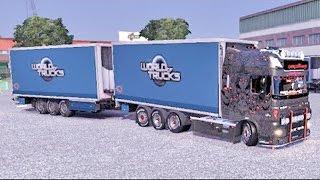 DAF Tandem Trailer ETS2 (Euro Truck Simulator 2)