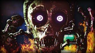 BURNING FAZBEARS FRIGHT TO THE GROUND!! || The Joy Of Creation Halloween Edition (Free Roam FNAF 3)