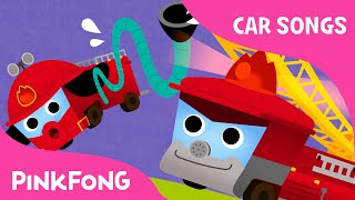 getlinkyoutube.com-Fire Truck Song | Car Songs | PINKFONG Songs for Children