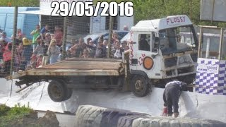 2016 St Day Truck Banger Racing 29/05/2016