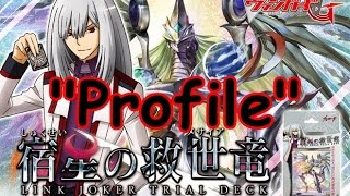 "getlinkyoutube.com-""Profile"" com os Parça - CF Vanguard: Fateful Star Messiah (Link Joker Trial Deck)"