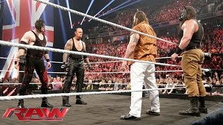 getlinkyoutube.com-The Undertaker and Demon Kane reemerge to unleash hell upon The Wyatt Family: Raw, November 9, 2015