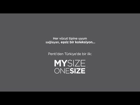 Penti'den Türkiye'de bir ilk: MySizeOneSize Koleksiyonu