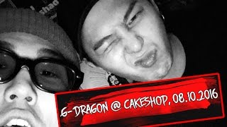 getlinkyoutube.com-G-Dragon @ Cakeshop, Seoul, 08.10.2016