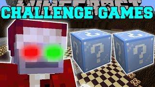 getlinkyoutube.com-Minecraft: EVIL SANTA CHALLENGE GAMES - Lucky Block Mod - Modded Mini-Game