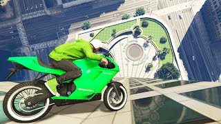 getlinkyoutube.com-DRIVING DOWN BUILDINGS (GTA 5 Funny Moments)