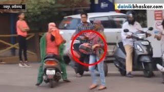 getlinkyoutube.com-Indian Jugaad Caught On Camera Over No Helmet No Petrol Rule