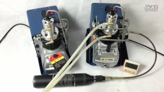 getlinkyoutube.com-High Pressure Pump Mini PCP Air Compressor 4500 PSI 300 Bar
