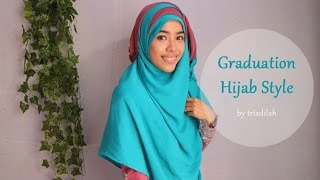Hijab Syar'i Tutorial: Graduation | triadilah