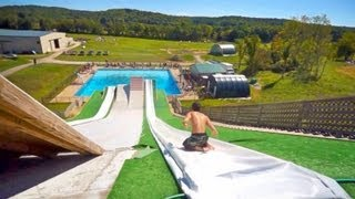 : Epic Slip 'N Slide Pool Party!
