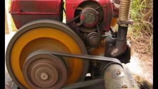 getlinkyoutube.com-1 Cylinder Diesel Engine Water Pump