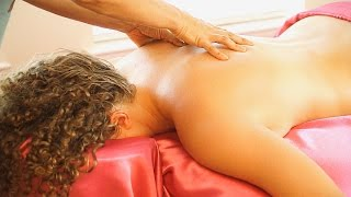 getlinkyoutube.com-Swedish Back Massage Therapy Techniques For Back Pain & Relaxation