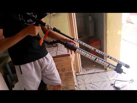 Homemade Airgun PVC - Version Paint Ball - HilifeShot