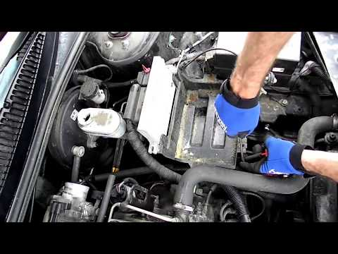 Saturn S-series Battery Box Removal
