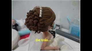 getlinkyoutube.com-PAP Cabelo Noiva em Biscuit 2
