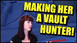 getlinkyoutube.com-Making Her a Vault Hunter! PC Splitscreen Coop Borderlands 2 with my Wife!