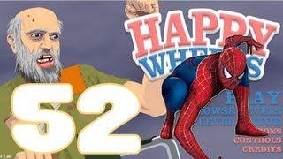"""getlinkyoutube.com-HAPPY WHEELS: Episodio 52 """"El Increible Spiderman!!!"""""""