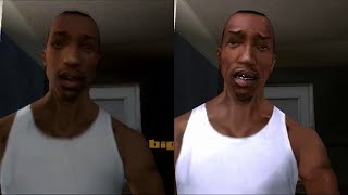 getlinkyoutube.com-GTA San Andreas - PS2 vs PS3 - HD 720p