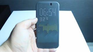 مراجعة كفر HTC One M9 Dot View