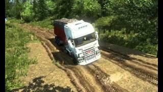 """getlinkyoutube.com-""""Суровая Россия"""" бездорожье , для Euro Truck Simulator 2"""