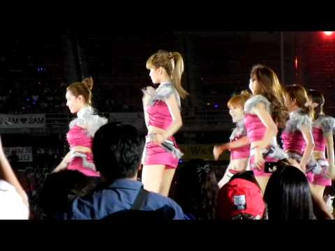 [Fancam] After School at Korean Wave Concert in Bangkok 12/03/11