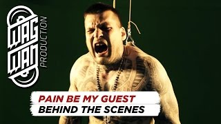 POPEK MONSTER, CHRONIK, PORCHY, HIJACK HOOD - PAIN BE MY GUEST (BTS)