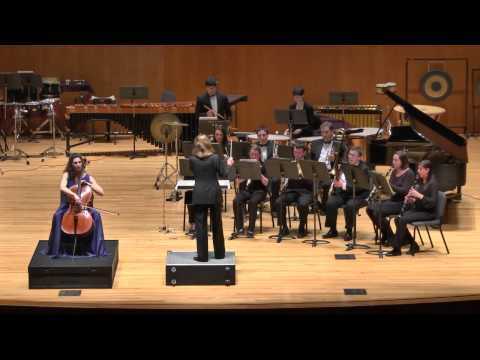 Martinu Concertino for Cello and Wind Ensemble/Natasha Farny