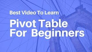 getlinkyoutube.com-Pivot Table In Excel For Beginners || Hindi