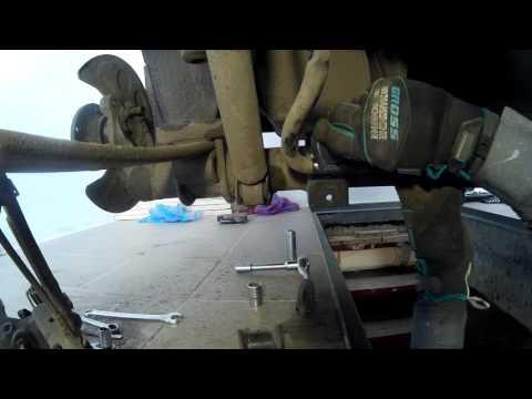 Втулки стабилизатора задние для VW Caddy