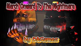 getlinkyoutube.com-SFM| Fredbear and Nightmare |music by: DAGames - March onward
