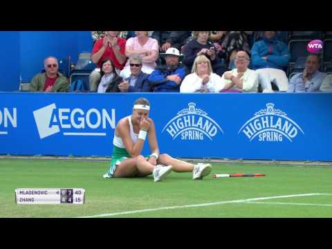 2017 Aegon Classic Day 4 | Shot of the Day | Kristina Mladenovic