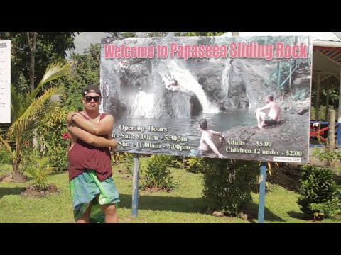 Travel Tips Samoa Pt. 2 Transport, Sliding Rocks, To Sua, Apia Town