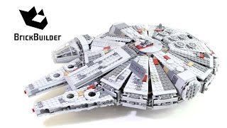 getlinkyoutube.com-Lego Star Wars 75105 Millennium Falcon - Lego Speed Build