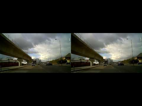 YT3D London in 3D - Virtual Drive round City Airport - pt2
