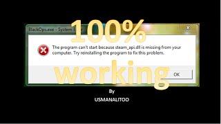 getlinkyoutube.com-[100%] How to FIX Error steam_api.dll File Missing All Windows
