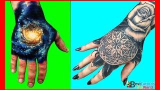 getlinkyoutube.com-Hand Tattoos