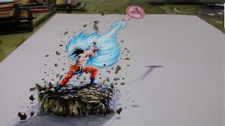 3D Drawing - dragon ball Z