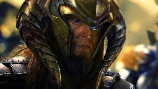 King Bor vs Dark Elves - Battle Scene - Thor: The Dark World (2013) Movie CLIP HD width=