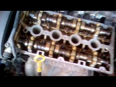 Опель астра H - Замена прокладки клапанной крышки z16xer, масло в свечных колодцах