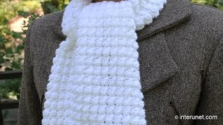 getlinkyoutube.com-How to crochet a scarf - pattern for beginners