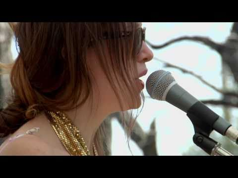Lia Ices live at Other Music & Dig For Fire's Lawn Party at SXSW