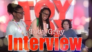 getlinkyoutube.com-The Frog Vlog: Toby Grey Interview from ABC's The Toy Box | American Girl Tenney & Logan