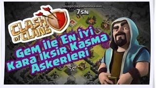 getlinkyoutube.com-Clash of Clans - KB 8'de Kara İksir Kasan Askerler