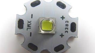 getlinkyoutube.com-Светодиод XML2 T6 10W для фонарика
