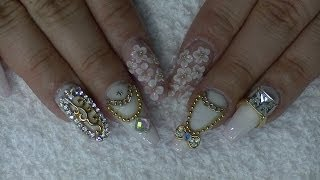 getlinkyoutube.com-Marc Jacobs Inspired Coffin Nails