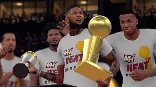 getlinkyoutube.com-NBA 2K16 MyCAREER S2 NBA Finals - Championship + Ring Ceremony! FINALS MVP! NEW TEAM!!!