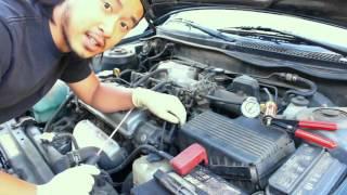 getlinkyoutube.com-How to test Toyota EGR System(VSV, Vacuum Modulator, EGR valve)